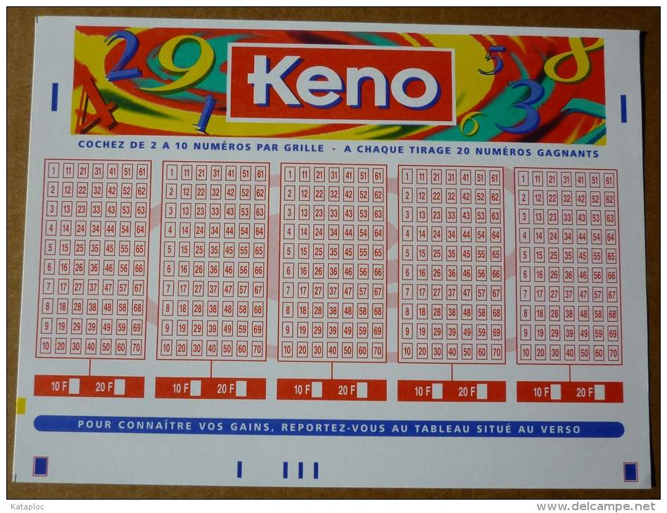 Keno loto